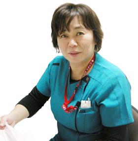 看護副部長茶谷香