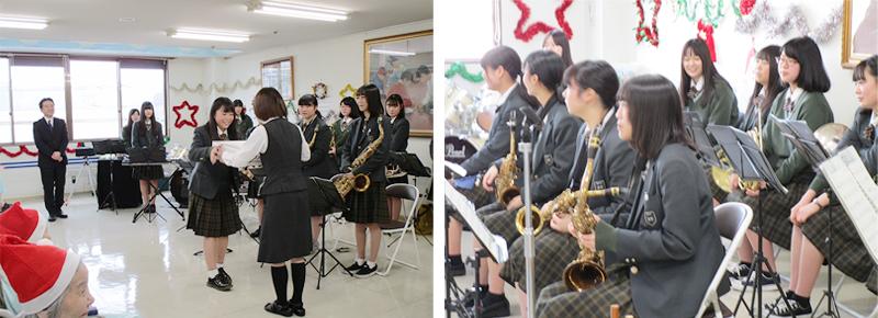 久藤総合病院と大聖寺高校吹奏楽部